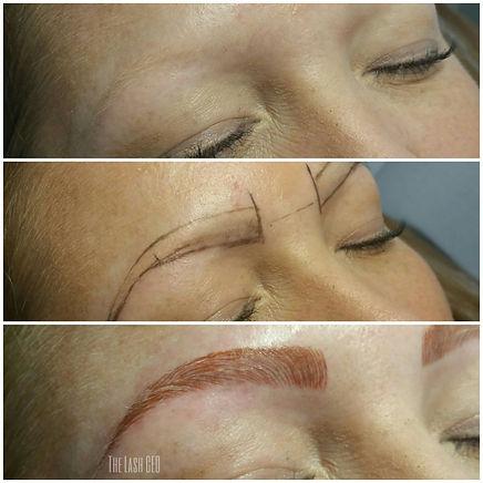 eyebrows microblading wtkr, va beach, norfolk