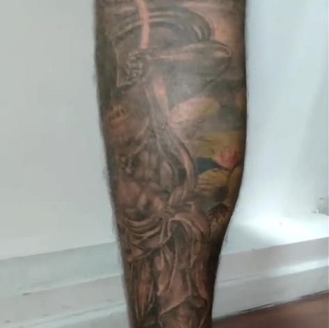 Completed on his both legs