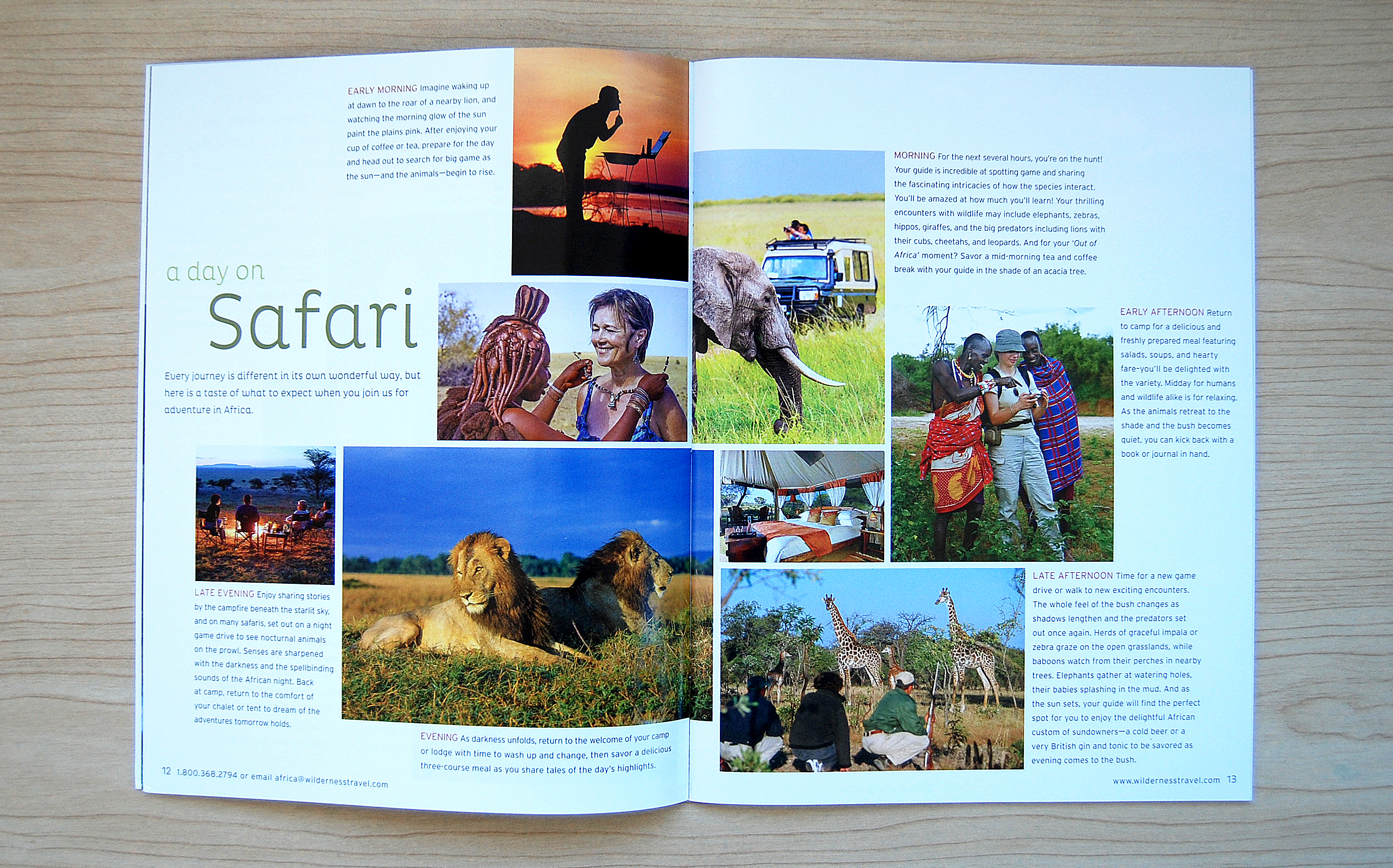 African Safaris Catalog