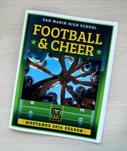 SMHS 2016 Football Program Cover