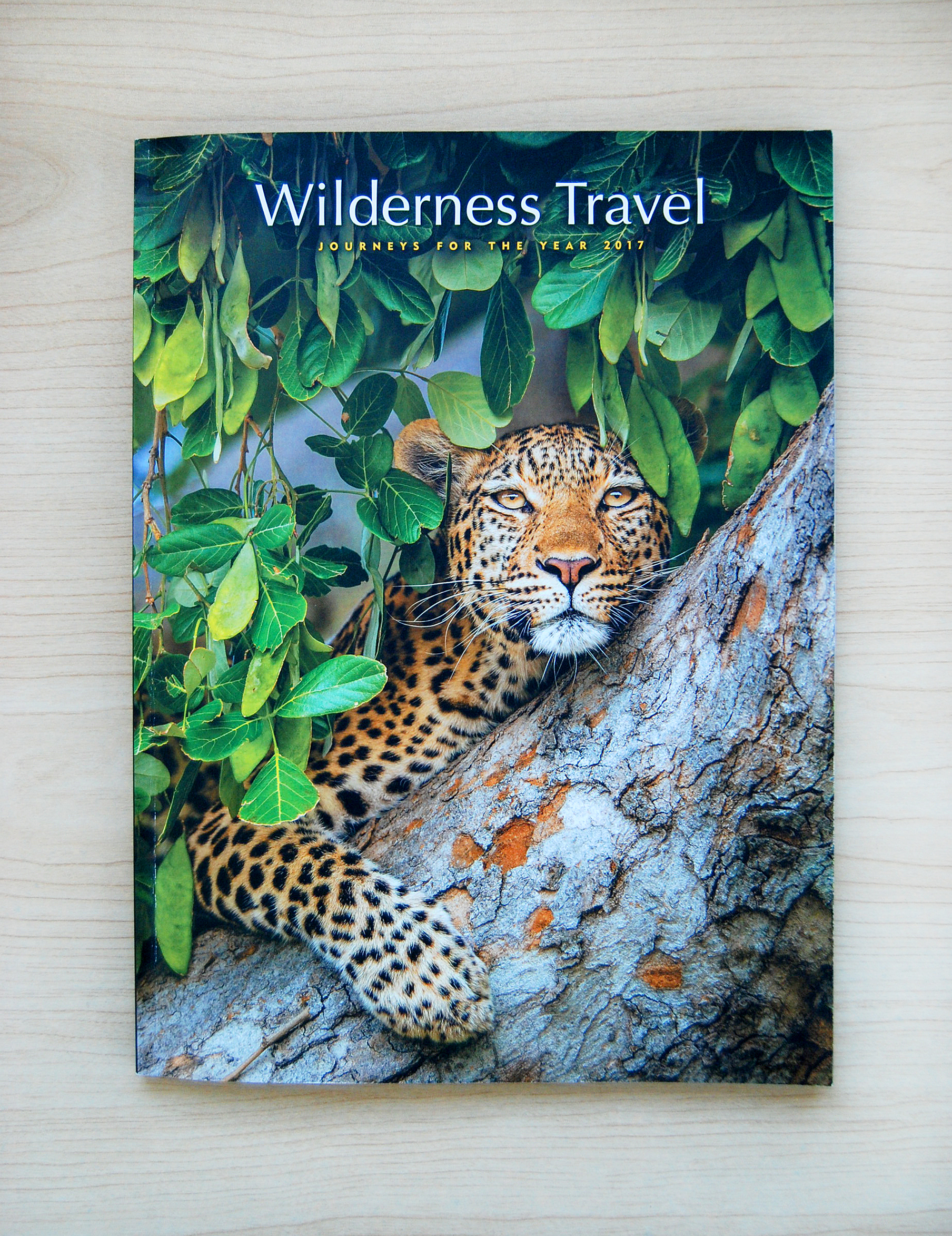 Wilderness Travel 2017 Cover