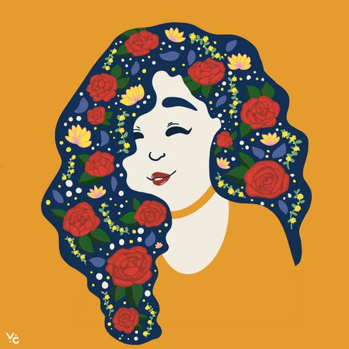 Florals Girls Series
