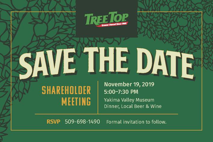 TreeTop Shareholder Meeting Invitational