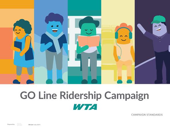 WTA GO Line Ridership Campaign Standards