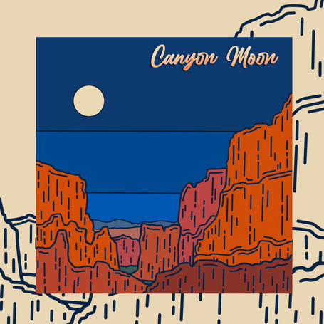 Canyon Moon Concept Art