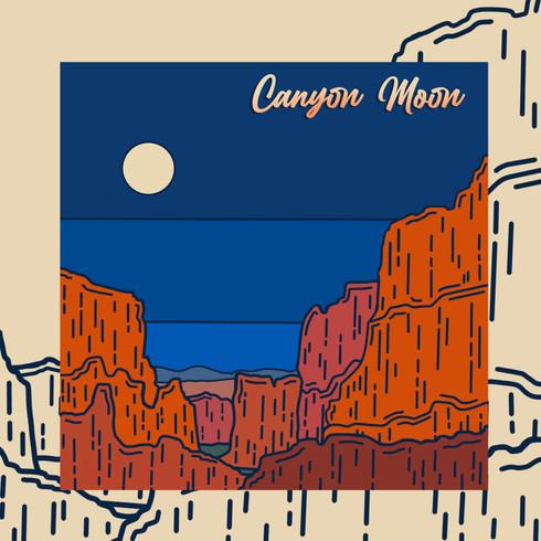 Canyon Moon Album Artwork (Concept)