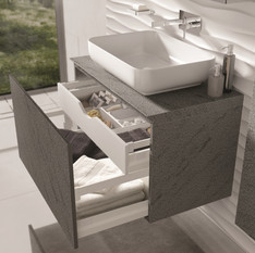Riva Open Drawers