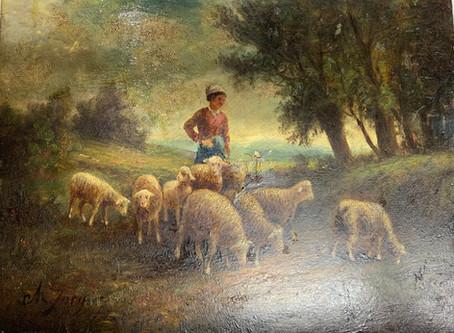 Mulvane Shepherdess Painting
