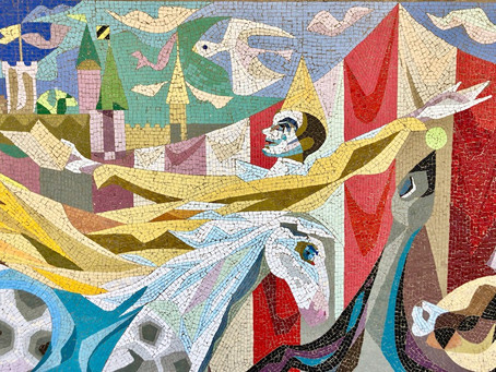 Arthur Kraft Mosaic Mural Removal