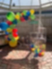 Sesame Street set up with Plinths, Mesh