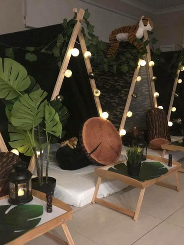Rumble in the Jungle Teepees