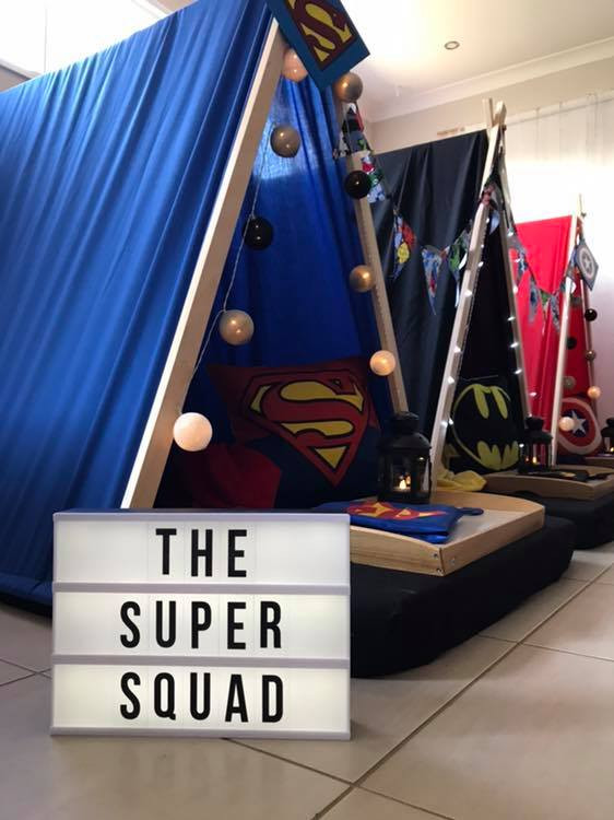 Super Squad - 6 Teepees Available