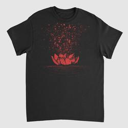 oresteia - shirt design - front