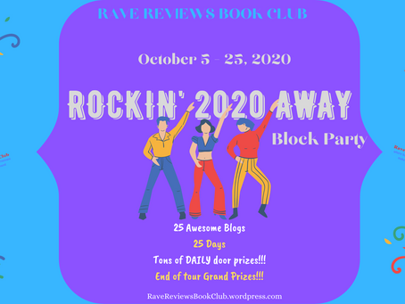 "Welcome to the #RRBC ""Rockin' 2020 Away"" Book, Blog & Trailer Block Party"