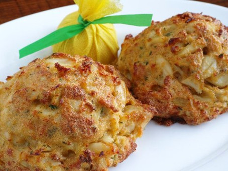 Writing and Maryland Crab Cakes