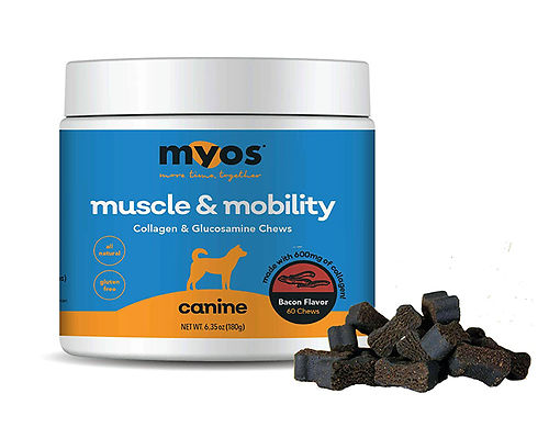 MYOS Canine Muscle Mobility Collagen Chews