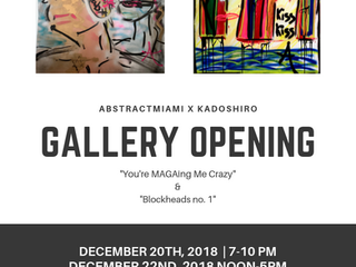 Gallery Opening in Miami!