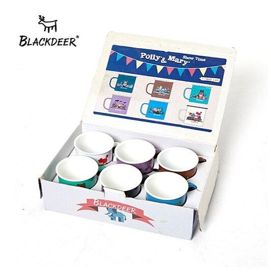 blackdeer enamel mug 6 pcs BD11615207