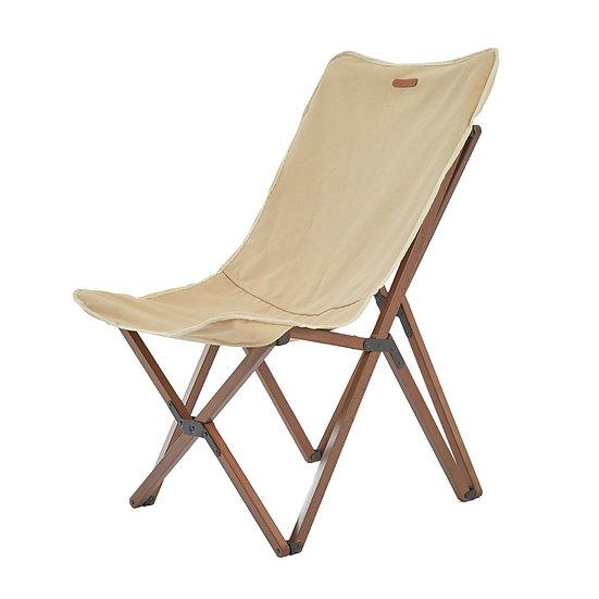 Blackdeer nature beech folding chair khaki big