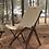 Thumbnail: Blackdeer nature beech folding chair khaki big