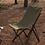 Thumbnail: Blackdeer nature beech folding chair green big