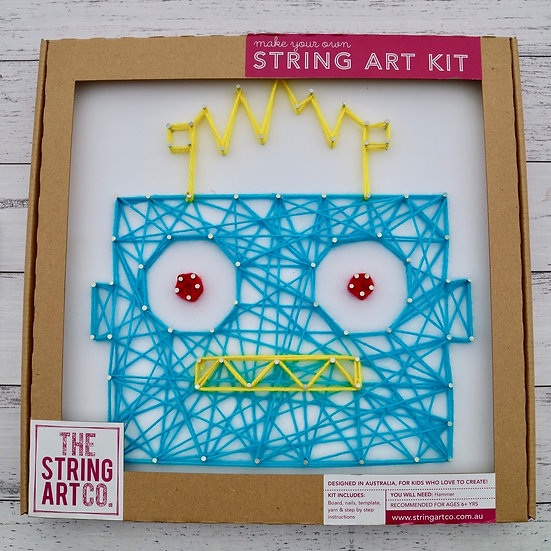 String Art Kit: Robot