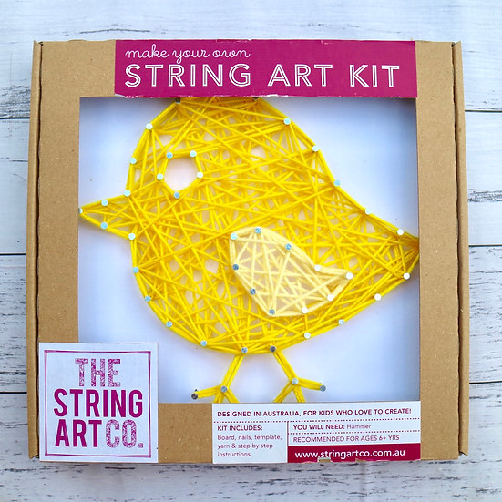 String Art Kit: Chicken