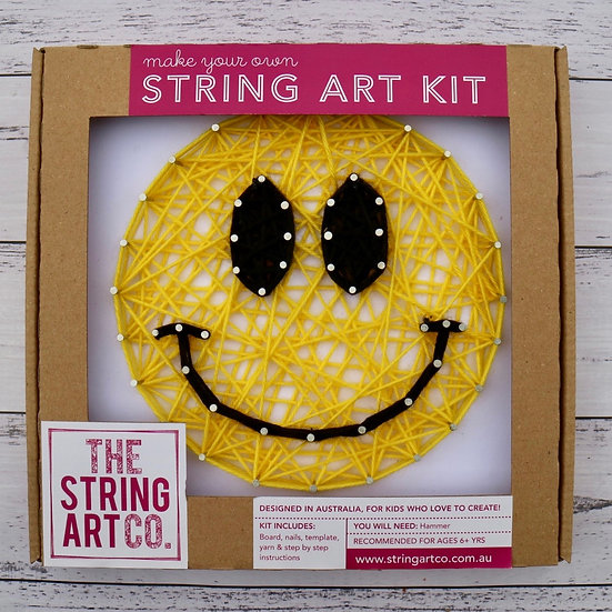 String Art Kit: Smiley