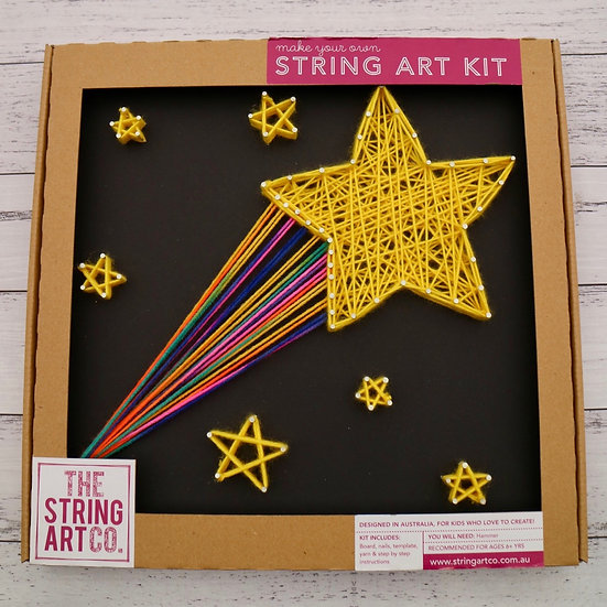 String Art Kit: Shooting Star