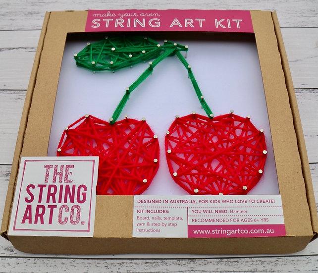 String Art Kit: Cherries