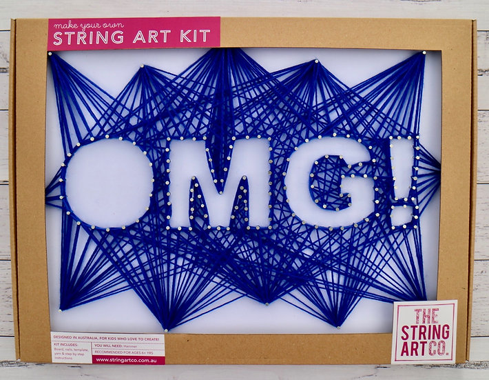 String Art Kit: OMG!