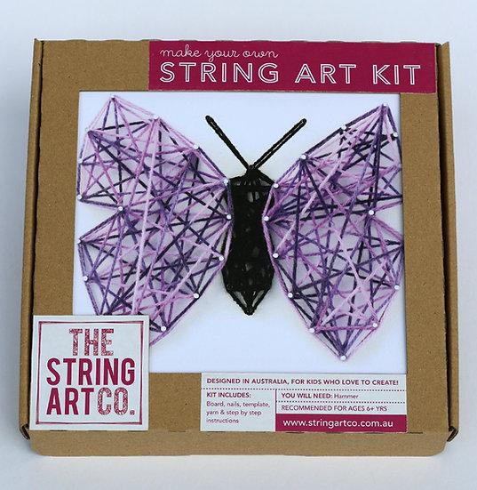 String Art Kit: Butterfly