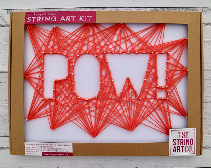 String Art Kit: POW!
