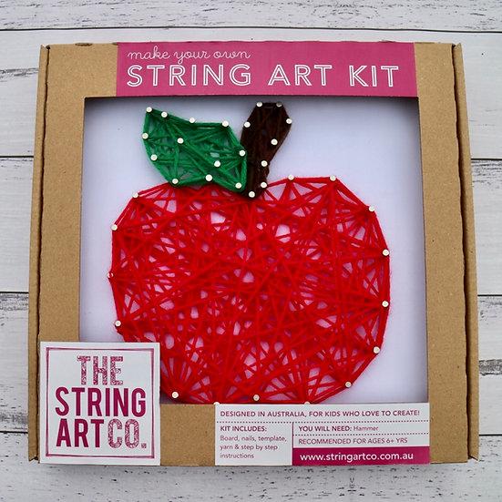 String Art Kit: Apple