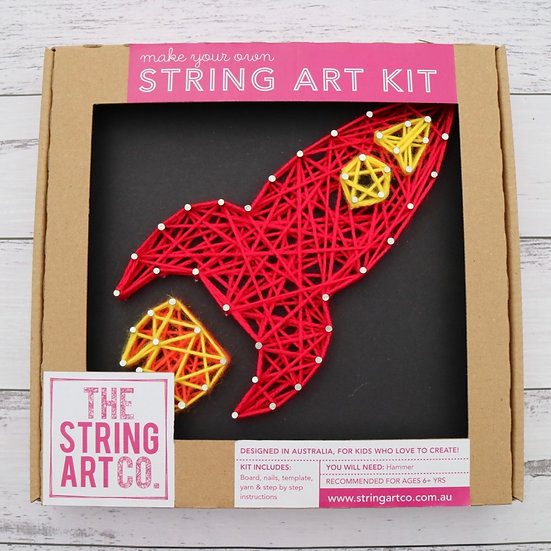 String Art Kit: Rocket