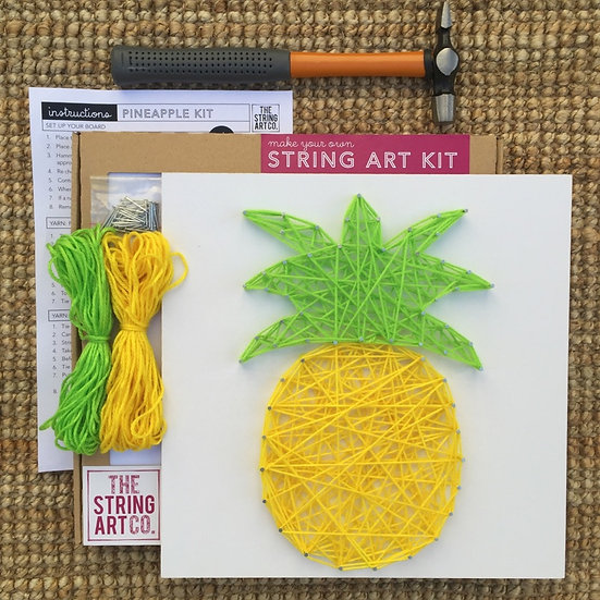 String Art Kit: Pineapple
