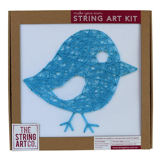 String Art Kit: Birdy