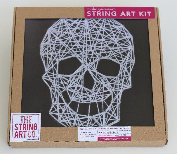 String Art Kit: Skull
