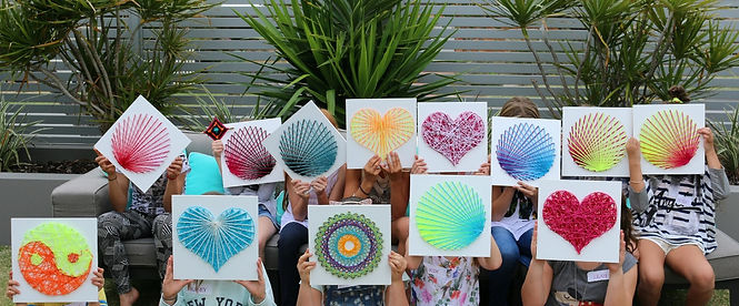 String Art Birthday Parties Perth