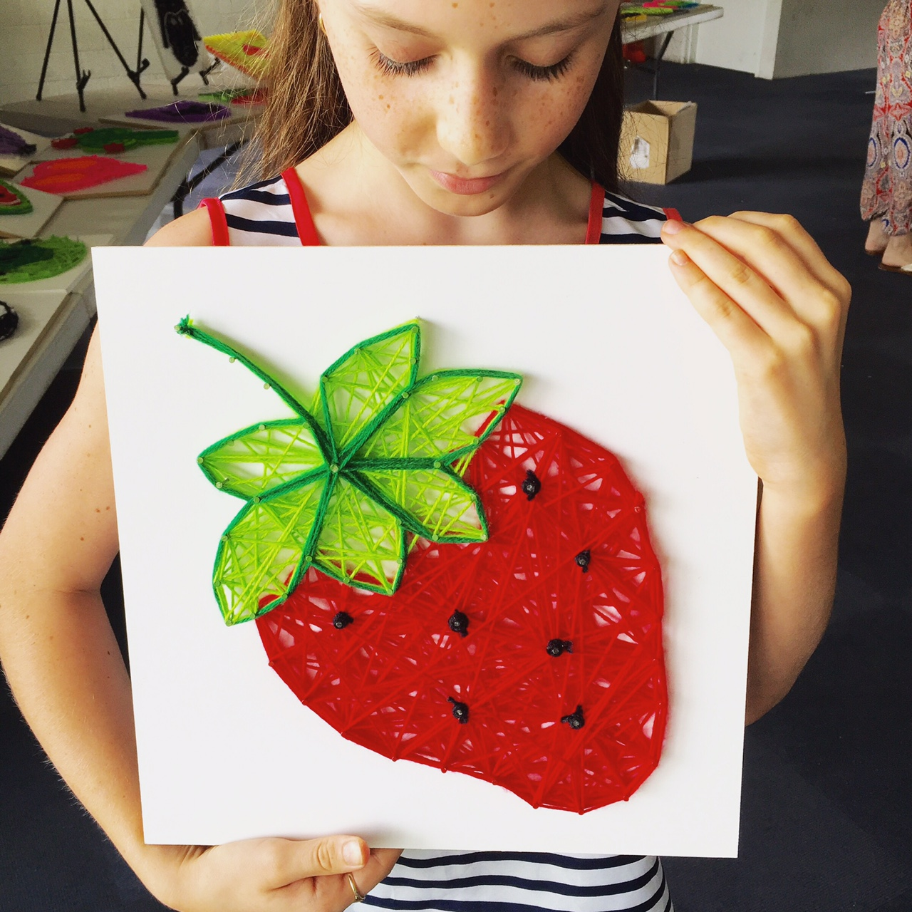 The String Art Co. Strawberry