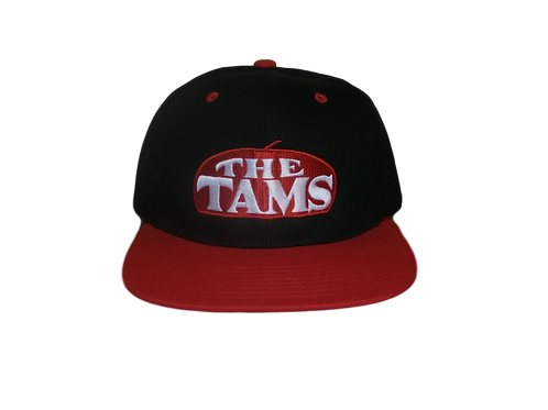 The Tams - Flat bill snapback hat