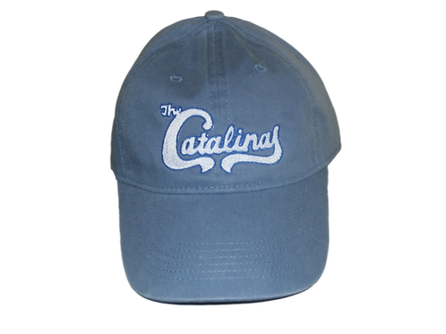The Catalinas -Band logo Pigment Dyed Canvas cap