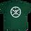 Thumbnail: Kids Preppy Pirate circle Logo t shirt - Green