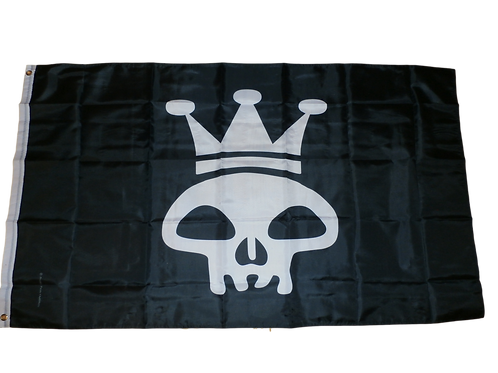 King Tyrone & The Graveyard Ramblers Official Logo Flag 3 x 5 Foot