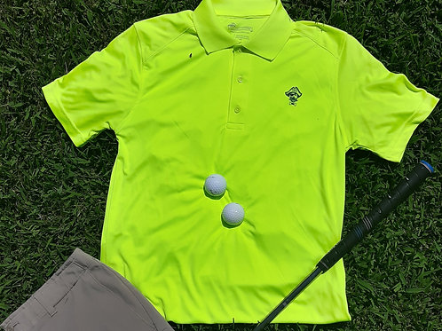 Mens Preppy Pirate Outfitters Performance Golf Shirt