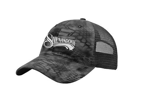 Shenandoah Black Kryptek trucker hat