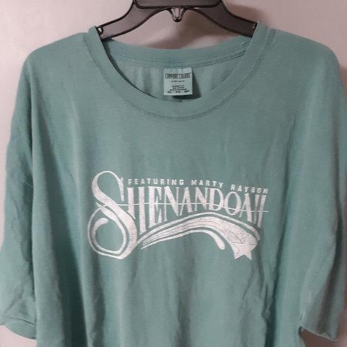 Shenandoah Short Sleeve Logo T Shirt - Green