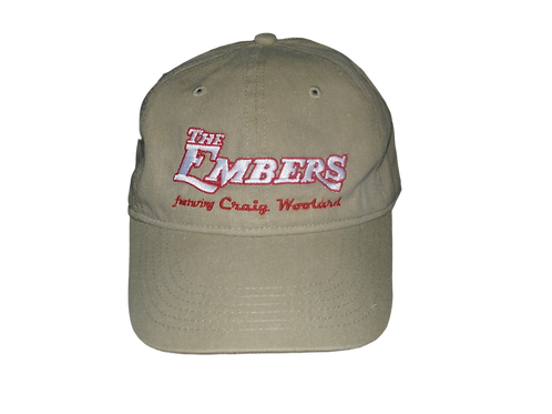 The Embers featuring Craig Woolard - Band cap