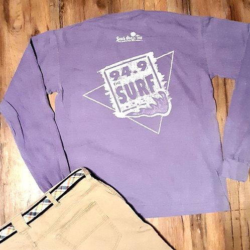 94.9 The Surf Logo long sleeve T shirt by Preppy Pirate