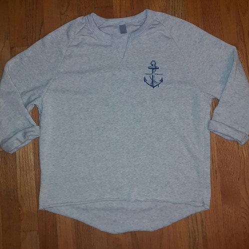 Ladies Preppy Pirate Remix eco sweatshirt